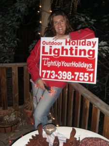 Kelly Fitzsimmons Founder Light Up Your Holidays Chicago