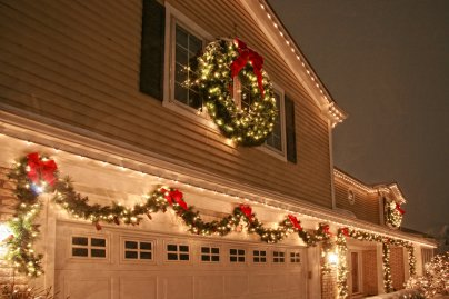Wreath Lights Garland Lights Home Decorations