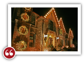 Chicago Light Up Your Holidays Reviews Testimonials - Traci G. | Winnetka , Illinois