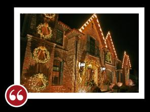 Chicago Light Up Your Holidays Reviews Testimonials - Traci G. | Winnetka , Illinois