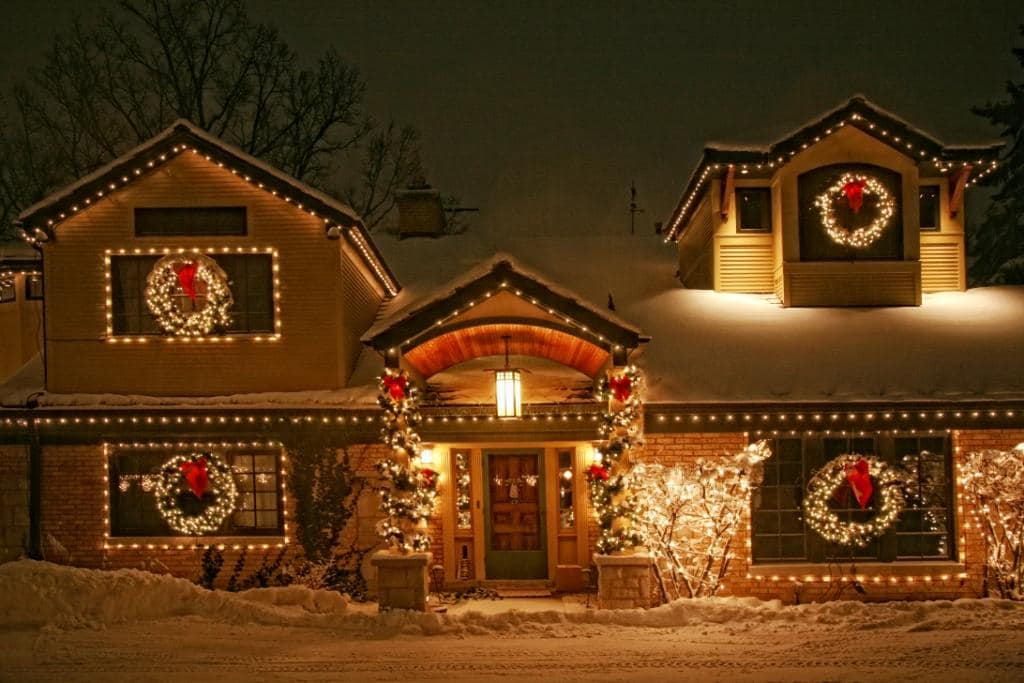 New Home - Professional Holiday Lighting Installation Services